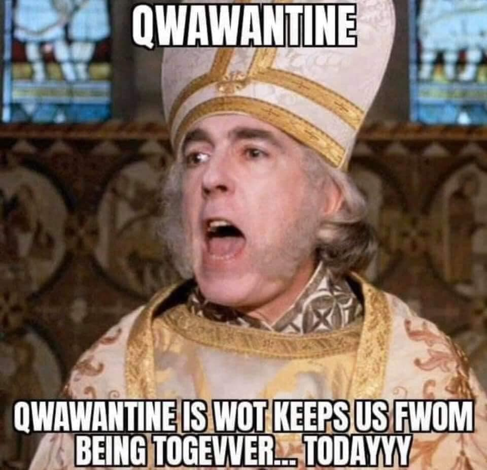 Princess Bride Meme 2020 - qwawantine